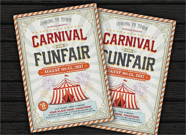 Carnival & Fun Fair Flyer Template