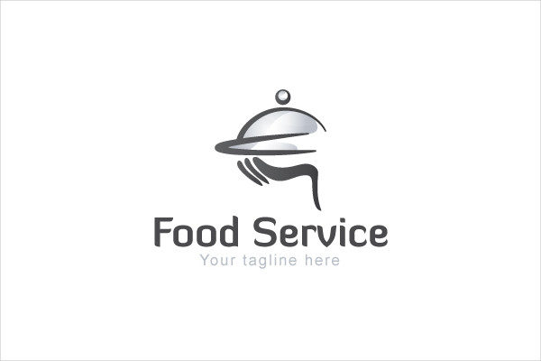 Catering Service Logo Design Template