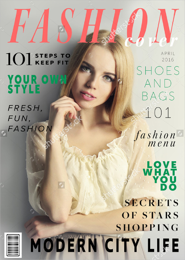 Lifestyle Attractive Magazine Template