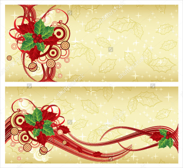 Christmas Rack Card Template