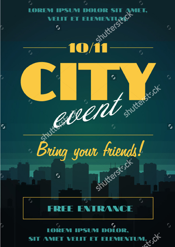 City Events Poster Template