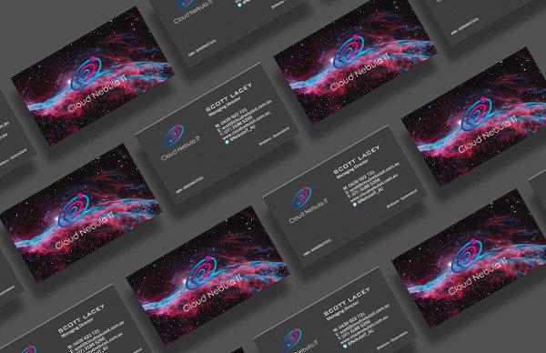 Branding Cloud Business Card Template