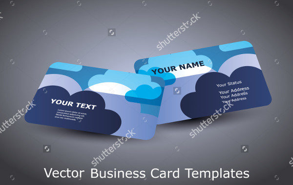 Vector Cloud Business Card Templates