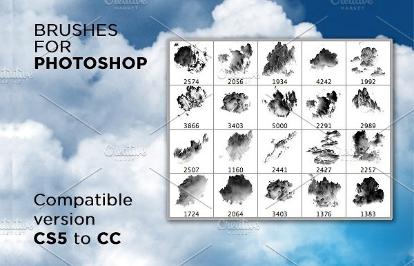 20 Fabulous Clouds Brushes
