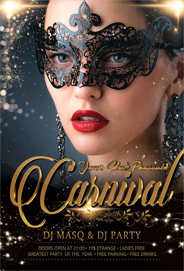 23 carnival flyer templates free premium download