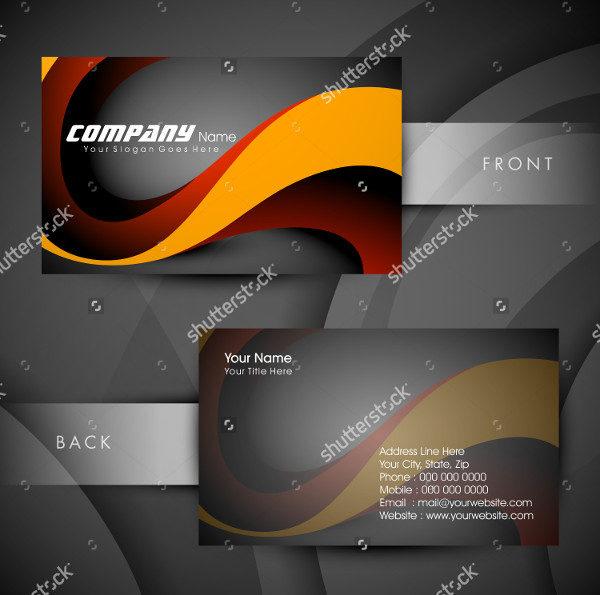 Colorful Designer Business Card
