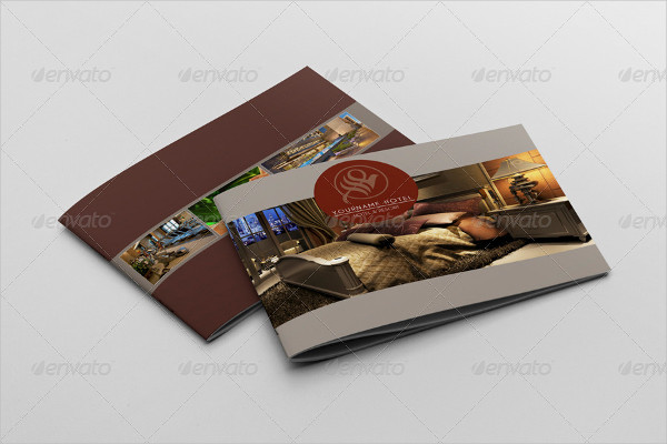 Colorful Hotel Brochure Template