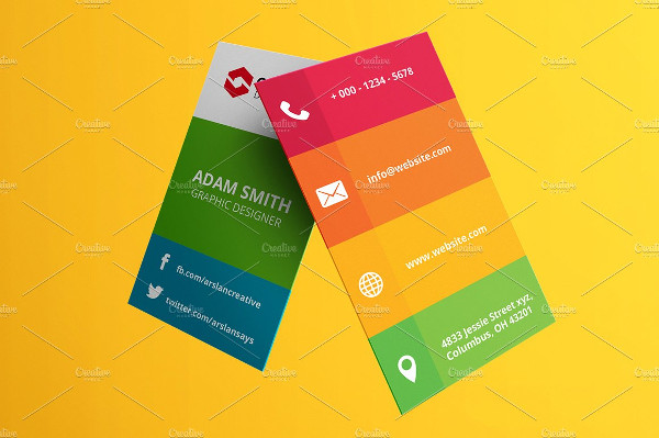 39 social media business card templates free premium download colorful social media business card template flashek Gallery