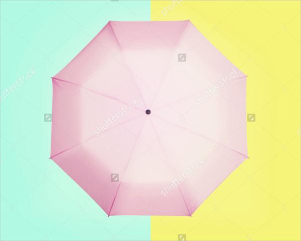 Colorful Umbrella Mock-Up