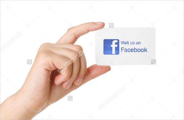 Commercial Facebook Business Card