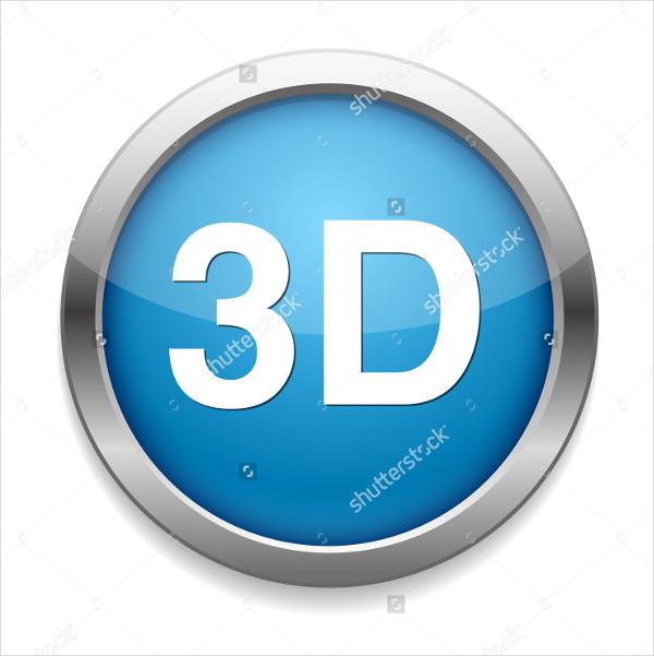 Simple 3D Button