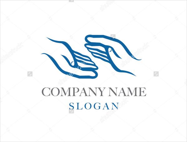 Hand Logo for Company