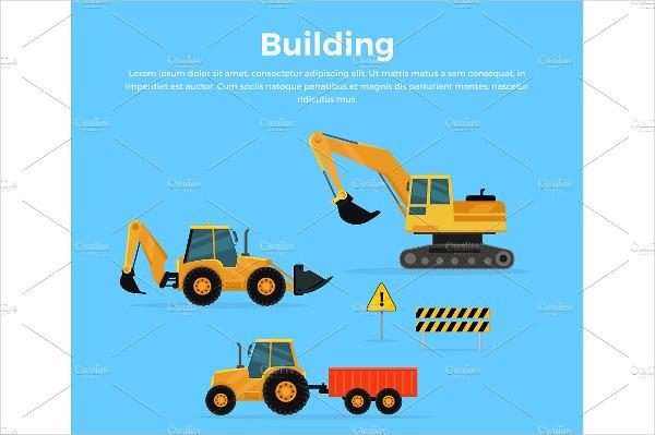 Construction Concept Banner
