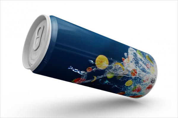 Cool Beer Can Mockup
