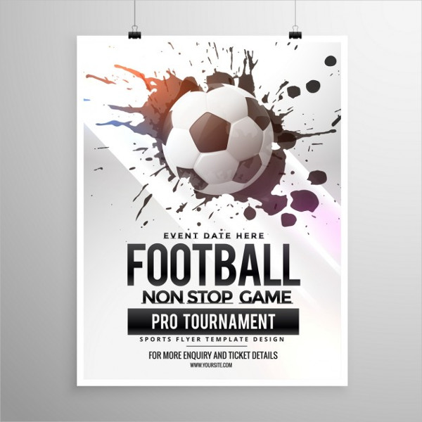 Cool Soccer Poster Free Download