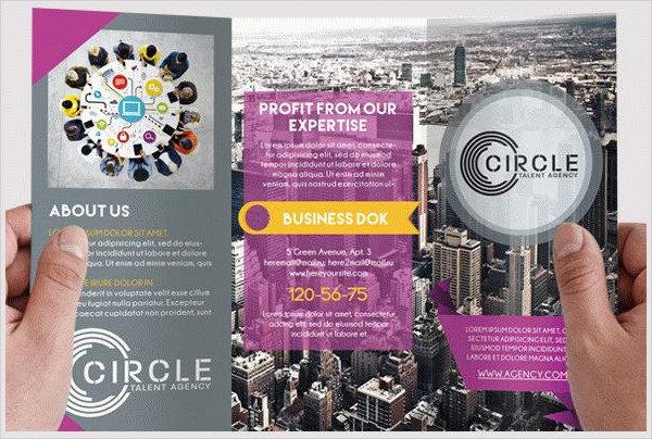Agency Free PSD Brochure Template