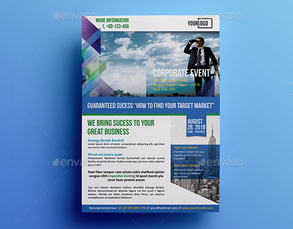 Corporate Business Event Flyers