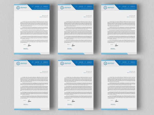 Corporate Company Letterheads Bundle