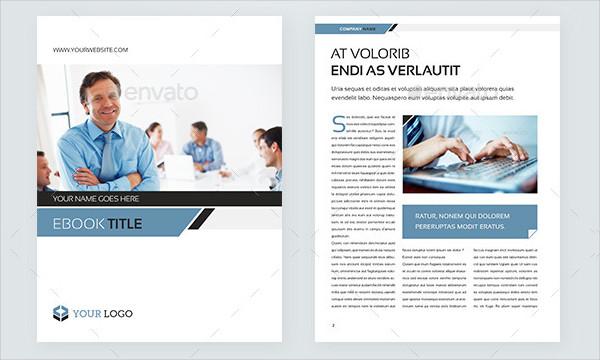Corporate Ebook Template Design