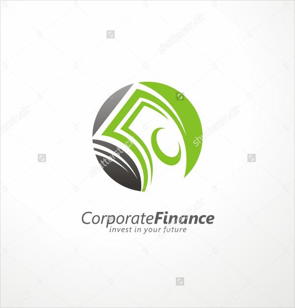 Corporate Finance Design Logo