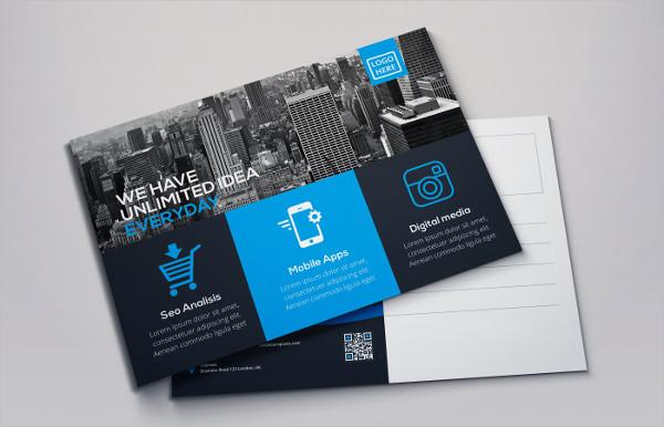 Corporate Marketing Postcard Template