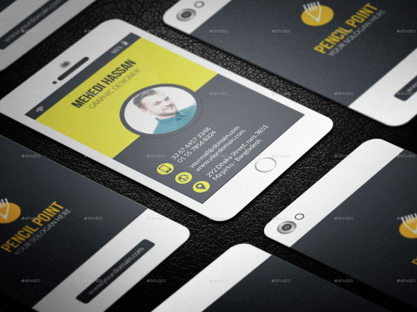 Phone Creative Business Card