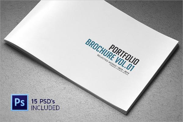Corporate Portfolio Brochure Template