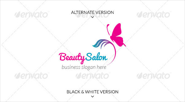 Beauty Salon Business Logo Template