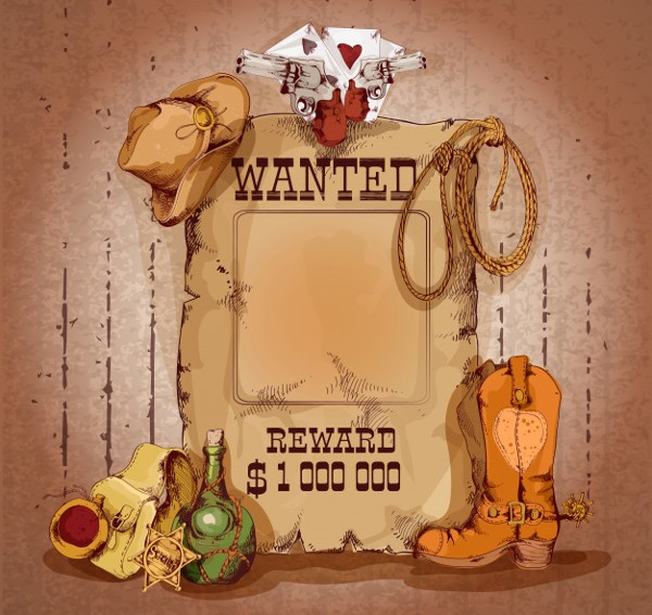 Country Wanted Man Poster