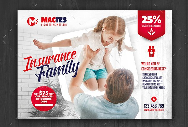 Creative Insurance Flyers Design