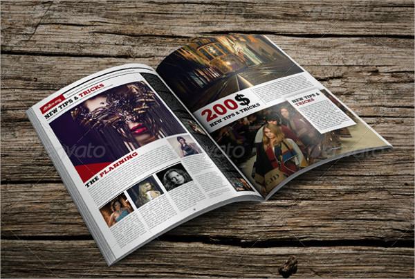 Lifestyle Professional Magazine Template