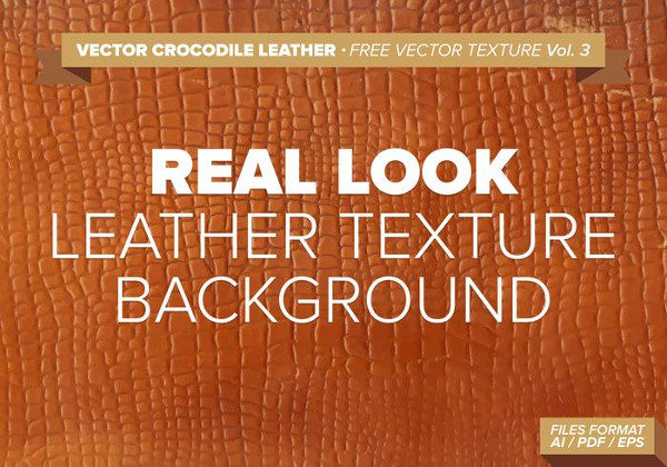 Crocodile Leather Free Vector Background