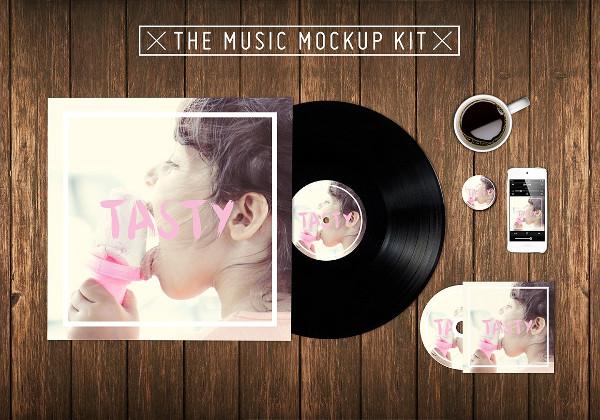 Customizable Music Kit Mockup