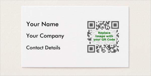 Editable Mobile Phone Business Card