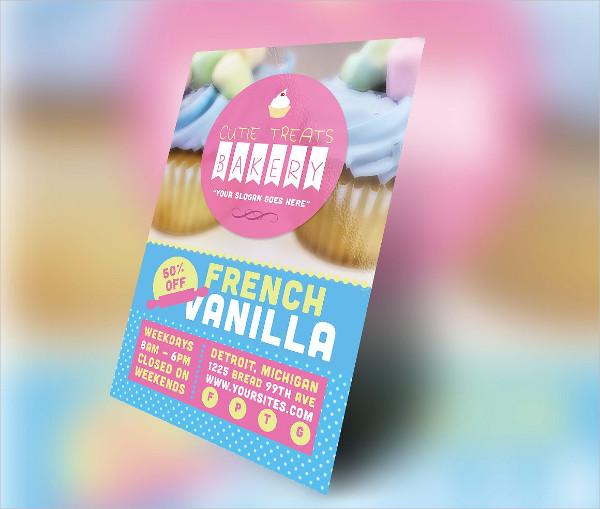 Cutie Treats Bakery Flyer