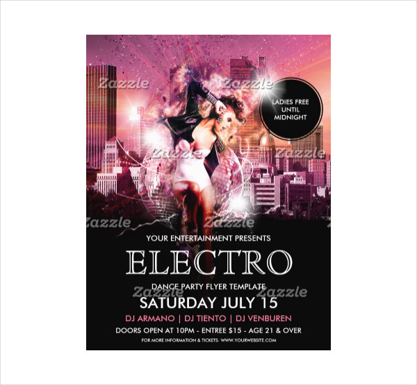 Dance Electro Party Flyer