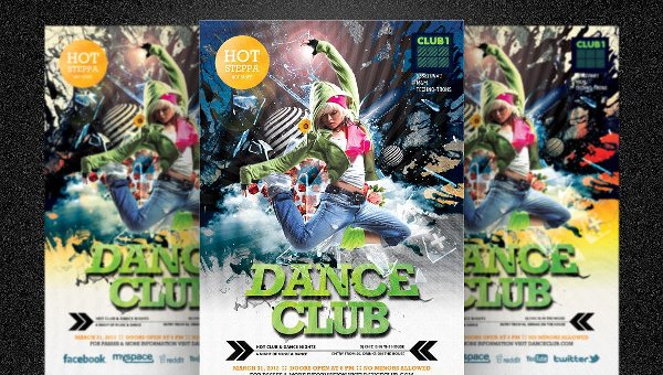 31+ Dance Party Flyers