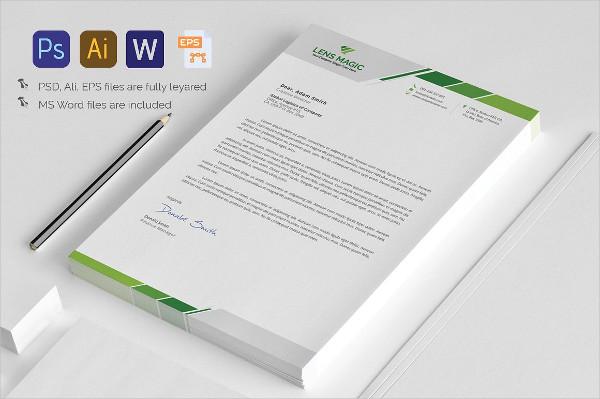 Design Letterhead Template