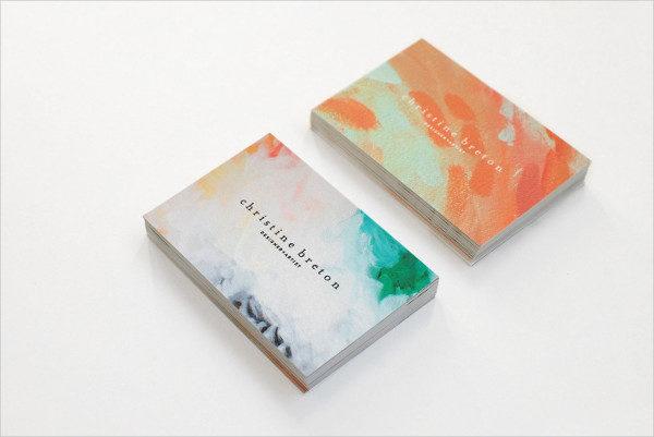 Designer Artist Business Card Template