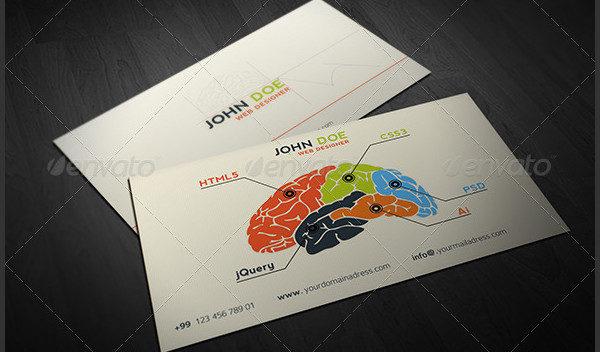 Corporate Designer Business Card Template