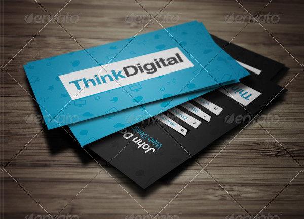 Cool Web Developer Business Card Template