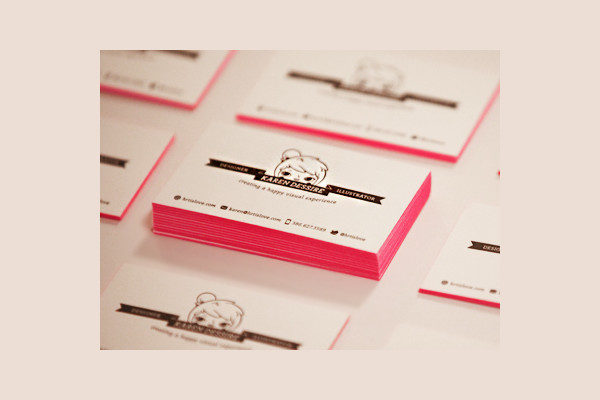 Designer Promo Business Card