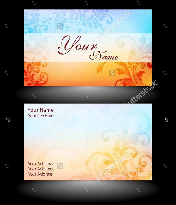 Editable Designer Business Card Template