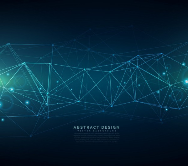 Digital Particles Background Free Download