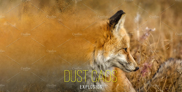 Dust Caos Explosion Effect