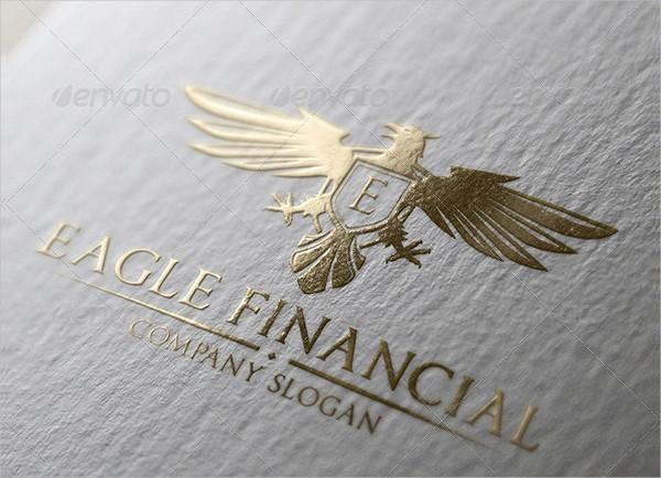 Eagle Financial Logo Design Template