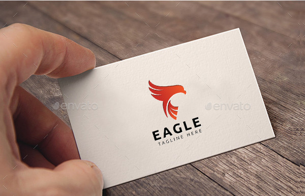 Eagle Flame Logo Template