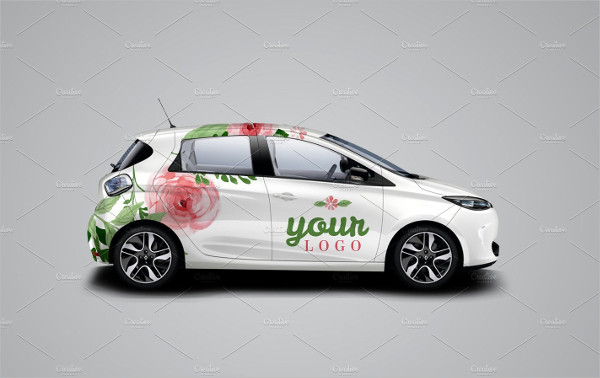 Easy to Use Car Mock-Up