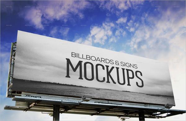 PSD Billboards & Signs Mockups