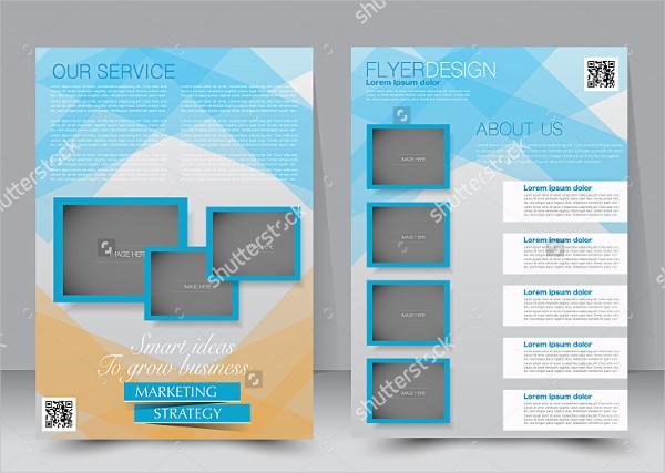 Editable Educational Marketing Brochure